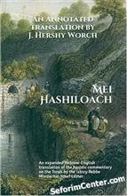 Mei HaShiloach - Rabbi Mordechai Yosef of Izbitza ʎnglish / Hebrew Edition)